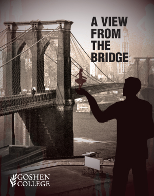 symbolism in the play a view from the bridge ` a view from the bridge the whole of this play involves symbolism, on many different levels the end scene, in which eddie takes his own life with his own knife is symbolic of the self-destructive nature that led to such an ending.